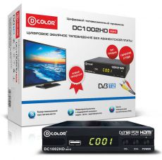 Ресивер DVB-T2 D-COLOR DC1002HD mini